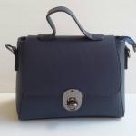 ํพร้อมส่ง กระเป๋าผู้หญิงถือและสะพายข้างใบเล็ก แฟชั่นเกาหลี รหัส Yi-01 สีน้ำเงิน