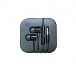 Xiaomai MIUI สเตอริโอ แบบสอดหู สำหรับ M1 M1S MI2 MI2S MI2A -สีดำ