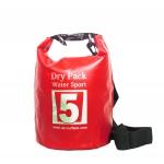 กระเป๋ากันน้ำ Dry pack 5L-สีแดง