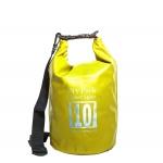 กระเป๋ากันน้ำ Dry pack 10L-สีเหลือง