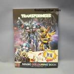 Transformers Magic Book / หนังสือสี ทรานฟอร์เมอร์
