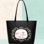 กระเป๋าแฟชั่นเกาหลี Beibaobao รุ่น Tote bag ลาย cupid สีดำ