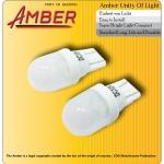 Amber ไฟหรี่ COB Led super bright T10 สีขาว 1วัตต์ (แพ็คคู่)