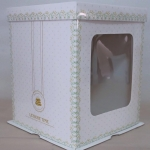 กล่องเค้กฟองดอง, กล่องเค้กทรงสูง ขนาด5 ปอนด์