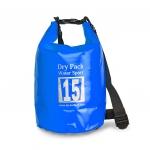 กระเป๋ากันน้ำ Dry pack 15L-สีน้ำเงิน