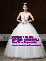 ชุดแต่งงานราคาถูก กระโปรงสุ่ม ws-016 pre-order