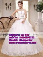 ชุดแต่งงานราคาถูก กระโปรงสุ่ม ws-044 pre-order