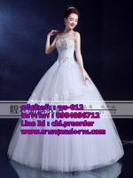 ชุดแต่งงานราคาถูก กระโปรงสุ่ม ws-012 pre-order