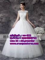 ชุดแต่งงานราคาถูก กระโปรงสุ่ม ws-024 pre-order