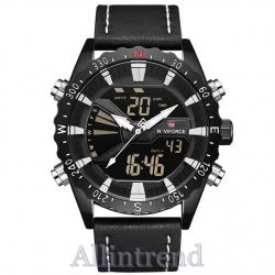 นาฬิกา Naviforce รุ่น NF9136M สีขาว/ดำ ของแท้ รับประกันศูนย์ 1 ปี ส่งพร้อมกล่อง และใบรับประกันศูนย์ ราคาถูกที่สุด