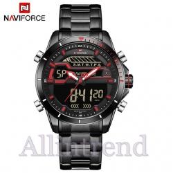 นาฬิกา Naviforce รุ่น NF9133M สีแดง สายสีดำ ของแท้ รับประกันศูนย์ 1 ปี ส่งพร้อมกล่อง และใบรับประกันศูนย์ ราคาถูกที่สุด