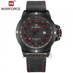 นาฬิกา Naviforce รุ่น NF9077M สีแดง ของแท้ รับประกันศูนย์ 1 ปี ส่งพร้อมกล่อง และใบรับประกันศูนย์ ราคาถูกที่สุด