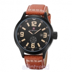 นาฬิกา Naviforce รุ่น NF9057M สีเหลือง ของแท้ รับประกันศูนย์ 1 ปี ส่งพร้อมกล่อง และใบรับประกันศูนย์ ราคาถูกที่สุด