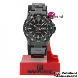 นาฬิกา Naviforce รุ่น NF9054M สีทองชมพู/ดำ ของแท้ รับประกันศูนย์ 1 ปี ส่งพร้อมกล่อง และใบรับประกันศูนย์ ราคาถูกที่สุด