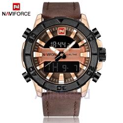 นาฬิกา Naviforce รุ่น NF9114M สีทองชมพู/น้ำตาล ของแท้ รับประกันศูนย์ 1 ปี ส่งพร้อมกล่อง และใบรับประกันศูนย์ ราคาถูกที่สุด