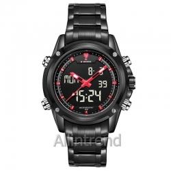 นาฬิกา Naviforce รุ่น NF9050M สีแดง/ดำ ของแท้ รับประกันศูนย์ 1 ปี ส่งพร้อมกล่อง และใบรับประกันศูนย์ ราคาถูกที่สุด
