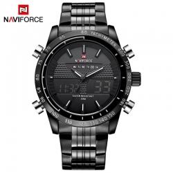 นาฬิกา Naviforce รุ่น NF9024M สีขาว/ดำ ของแท้ รับประกันศูนย์ 1 ปี ส่งพร้อมกล่อง และใบรับประกันศูนย์ ราคาถูกที่สุด