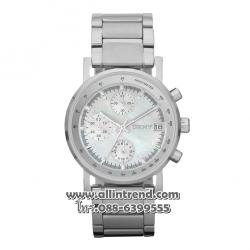 นาฬิกา DKNY รุ่น NY4331-สีเงิน นาฬิกาข้อมือผู้หญิง ของแท้ รับประกันศูนย์ 2 ปี ส่งพร้อมกล่อง และใบรับประกันศูนย์
