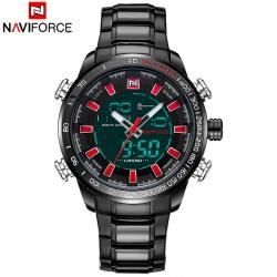 นาฬิกา Naviforce รุ่น NF9093M Red BK นาฬิกาข้อมือสุภาพบุรุษ ของแท้ รับประกันศูนย์ 1 ปี ส่งพร้อมกล่อง และใบรับประกันศูนย์ ราคาถูกที่สุด