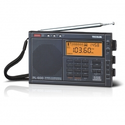 Tecsun PL-600 AM FM LW SSB Shortwave Portable Radio - Black
