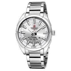นาฬิกา Naviforce รุ่น NF9038M สีเงิน ของแท้ รับประกันศูนย์ 1 ปี ส่งพร้อมกล่อง และใบรับประกันศูนย์ ราคาถูกที่สุด