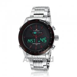 นาฬิกา Naviforce รุ่น NF9024M สีแดง/เงิน ของแท้ รับประกันศูนย์ 1 ปี ส่งพร้อมกล่อง และใบรับประกันศูนย์ ราคาถูกที่สุด