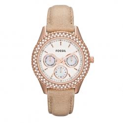 นาฬิกา Fossil รุ่น ES3104 นาฬิกาข้อมือผู้หญิง ของแท้ รับประกันศูนย์ 2 ปี ส่งพร้อมกล่อง และใบรับประกันศูนย์