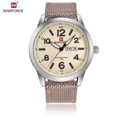 นาฬิกา Naviforce รุ่น NF9101M Cream นาฬิกาข้อมือสุภาพบุรุษ ของแท้ รับประกันศูนย์ 1 ปี ส่งพร้อมกล่อง และใบรับประกันศูนย์ ราคาถูกที่สุด
