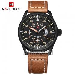 นาฬิกา Naviforce รุ่น NF9044M สีแทน ของแท้ รับประกันศูนย์ 1 ปี ส่งพร้อมกล่อง และใบรับประกันศูนย์ ราคาถูกที่สุด