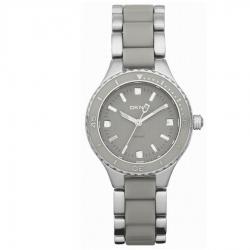 นาฬิกา DKNY รุ่น NY8501 นาฬิกาข้อมือสุภาพสตรี สายเซรามิกสีเทา