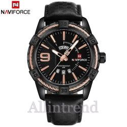 นาฬิกา Naviforce รุ่น NF9117L สีทองชมพู/ดำ ของแท้ รับประกันศูนย์ 1 ปี ส่งพร้อมกล่อง และใบรับประกันศูนย์ ราคาถูกที่สุด