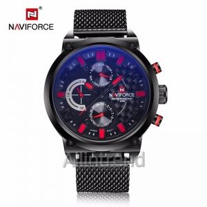 นาฬิกา Naviforce รุ่น NF9068M สีแดง/ดำ ของแท้ รับประกันศูนย์ 1 ปี ส่งพร้อมกล่อง และใบรับประกันศูนย์ ราคาถูกที่สุด