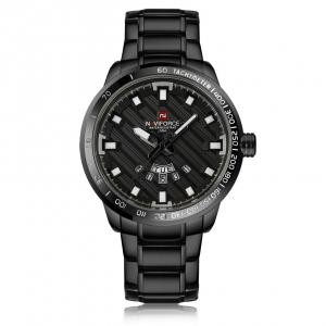 นาฬิกา Naviforce รุ่น NF9090M สีดำ ของแท้ รับประกันศูนย์ 1 ปี ส่งพร้อมกล่อง และใบรับประกันศูนย์ ราคาถูกที่สุด