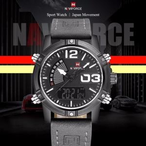 นาฬิกา Naviforce รุ่น NF9095M สีขาว/เทา ของแท้ รับประกันศูนย์ 1 ปี ส่งพร้อมกล่อง และใบรับประกันศูนย์ ราคาถูกที่สุด