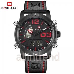 นาฬิกา Naviforce รุ่น NF9095M สีแดง/ดำ ของแท้ รับประกันศูนย์ 1 ปี ส่งพร้อมกล่อง และใบรับประกันศูนย์ ราคาถูกที่สุด
