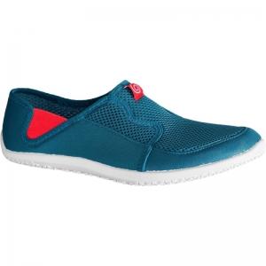 รองเท้าลุยน้ำ รองเท้าดำน้ำ สีฟ้า พื้นสีขาว