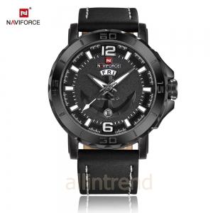 นาฬิกา Naviforce รุ่น NF9122M สีเทา/ดำ ของแท้ รับประกันศูนย์ 1 ปี ส่งพร้อมกล่อง และใบรับประกันศูนย์ ราคาถูกที่สุด