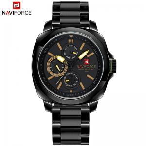 นาฬิกา Naviforce รุ่น NF9069M Yellow Black นาฬิกาข้อมือสุภาพบุรุษ สีเหลือง ดำ ของแท้ รับประกันศูนย์ 1 ปี ส่งพร้อมกล่อง และใบรับประกันศูนย์ ราคาถูกที่สุด