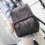 พร้อมส่ง กระเป๋าเป้สะพายหลัง เป้เดินทาง เป้นักเรียนผู้หญิงแฟชั่นเกาหลี TIANCAI รหัส B-103 สีดำ thumbnail 1