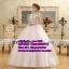 ชุดแต่งงานราคาถูก ผาดบ่า กระโปรงสุ่ม ws-030 pre-order thumbnail 1