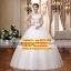 ชุดแต่งงานราคาถูก คอวี(V)-กระโปรงยาว ws-2017-009 pre-order ตอนรับปีใหม่ 2017 thumbnail 1
