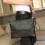 พร้อมส่ง กระเป๋าผู้ชายคลัทซ์และสะพายข้าง ใส่ ipad ลายหนังจระเข้แฟขั่นเกาหลี รหัส Man-1281-35 ไซร์ 35 cm สีดำ 1 ใบ thumbnail 1