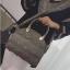 ขายส่งกระเป๋าผู้หญิงถือและสะพายข้าง ร่องคลื่นน้ำ แฟชั่นเกาหลี Fashion bag รหัส DU-928 สีเขียวขี้ม้า thumbnail 2