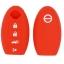 WASABI ซิลิโคนกุญแจ Nissan Teana,Sylphy,Almera,X-Trail (สีแดง) แถมฟรี ผ้าไมโครไฟเบอร์ อย่างดี 1 ผืน thumbnail 2