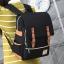 พร้อมส่ง กระเป๋าเป้ผ้า สะพายหลังนักเรียน วัยรุ่น นักศักษา เป้เดินทาง แฟชั่นเกาหลี รหัส G-635 สีดำ 2 ใบ thumbnail 1