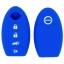 WASABI ซิลิโคนกุญแจ Nissan Teana,Sylphy,Almera,X-Trail (สีน้ำเงิน) แถมฟรี ผ้าไมโครไฟเบอร์ อย่างดี 1 ผืน thumbnail 2