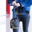 ขายส่ง กระเป๋าเป้สะพายหลังใบเล็ก รูปเสื่อผู้หญิงแฟชั่นเกาหลี TIANCAI รหัส F-581 สีดำ thumbnail 1