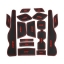 WASABI ซิลิโคน ปูพื้นผิว คอนโซล CRV14 (สีดำ) thumbnail 1