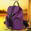 ขายส่ง กระเป๋าเป้ผ้าสายรูดผู้หญิง เป้สะพายหลังเดินทาง แฟชั่นเกาหลี รหัส KO-681 สีม่วง thumbnail 1
