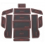 WASABI ซิลิโคนปูพื้นผิวคอนโซล รุ่น Accord 09-13 (สีดำ) thumbnail 1